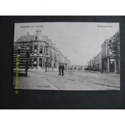 Bergen op Zoom 1907 - Stationsstraat