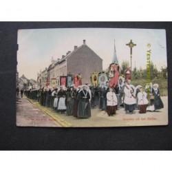 Boxmeer ca. 1910 - processie-groeten uit het zuiden