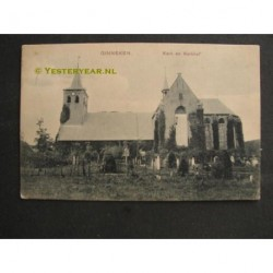 Ginneken 1909 - Kerk en Kerkhof
