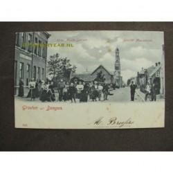 Dongen 1900 - Hotel Musis Sacrum - Musisstraat - voorloper