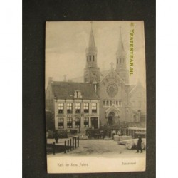 Roosendaal 1907 - cafe Spoorzigt Dwarskade