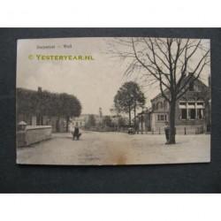 Well 1910 - Dorpstraat met school