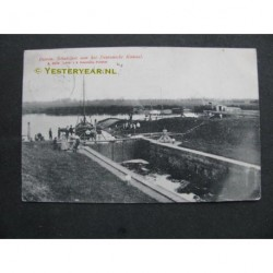 Dieren 1905 - schutsluis Dierens Kanaal