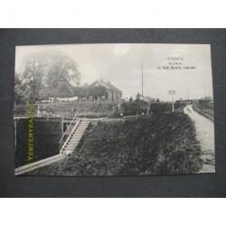 Dieren 1915 - Sluizen in het Apeldoornskanaal