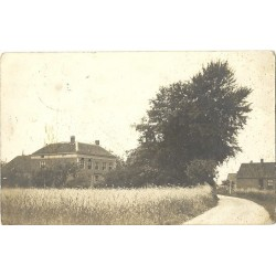 Zetten 1911- dorpsstraat - fotokaart