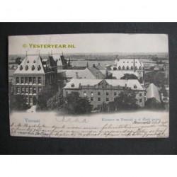 Venray 1901 - klooster van de kerk gezien