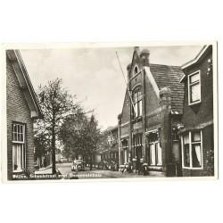 Beilen 1948 - Schoolstraat met gemeentehuis