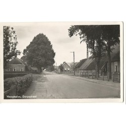 Hooghalen 1933 - Dorpsstraat- melkfabriek