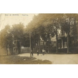 Delfzijl 1913 - groet uit - Singelweg - fotokaart