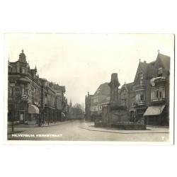 Hilversum 1931 - Kerkstraat - fotokaart