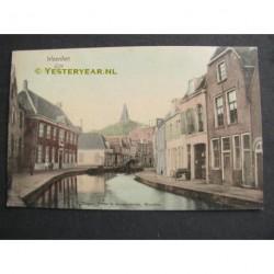 Woerden 1913 - Rijn - brug