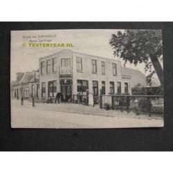 Dwingeloo ca. 1905 - Hotel Zantinge