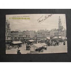 Middelburg 1904 - Groote Markt