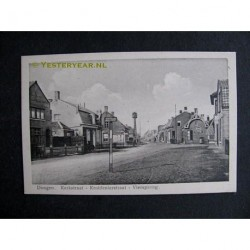 Dongen ca. 1915 - Kerkstraat Kruidenierstraat Viersprong