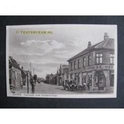 Dongen ca. 1915 - Tramstraat hoek Kruidenierstraat