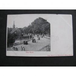 Heeze 1918 - dorp Heeze - kerkgang