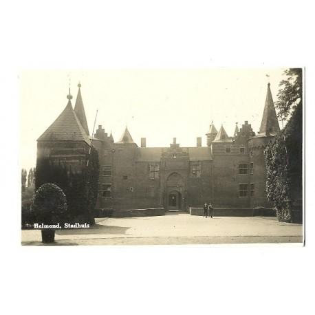 Helmond ca. 1930 - Stadhuis - fotokaart