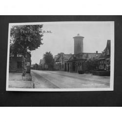Nieuwkuijk 1930 - Dorpsstraat en watertoren