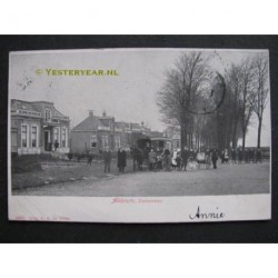 Akkrum 1906 - Stationsweg