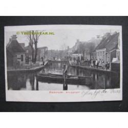 Akkrum 1902 - Bruggegat