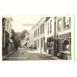 Oudewater 1933 - Leeuweringerstraat - fotokaart