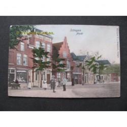 Schagen 1910 - Markt