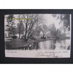 Weert 1903 - Kasteelgracht met ruine