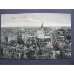 Gouda 1910 - Vogelvlucht
