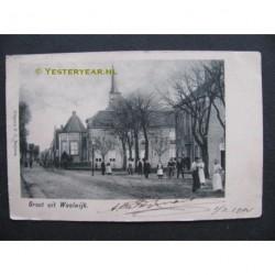Waalwijk 1904 - groet uit