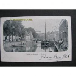 Kampen 1903 - Vloedijk en Burgwal
