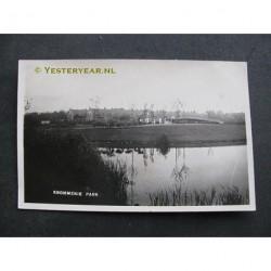Krommenie ca. 1935 - Park - fotokaart