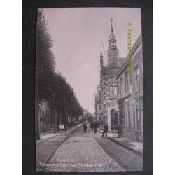 Naarden 1915 - Vrouwenstraat met postkantoor