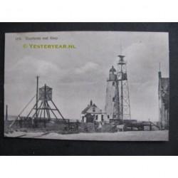 Urk ca. 1915 - Vuurtoren met kaap