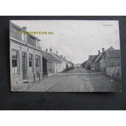 Zoutelande 1919 - dorpstraat met logement