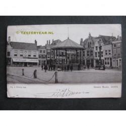 Goes 1903 - Groote Markt met muziektent