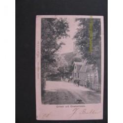 Oosterleek 1902 - kerkbuurt-groet uit - dorpsstraat