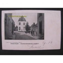 Hasselt 1902 - Marktplein-Wilhelminaboom