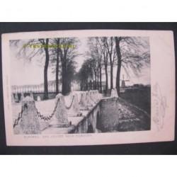 Gennep 1903 - Rijksweg naar Nijmegen