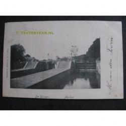 Muiden 1901 - de Sluizen