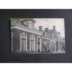 Kollum ca. 1910 - dorpstraat met winkel
