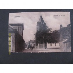 Zoelmond 1912 - gezicht op de kerk