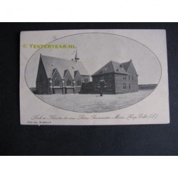 Echt 1919 - kerk en klooster Paters