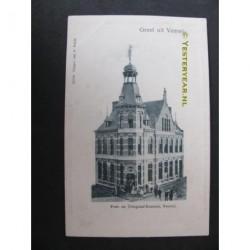 Venray ca. 1900 - Post- en Telegraafkantoor