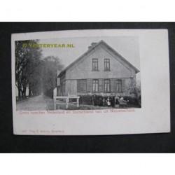 Nieuweschans 1903 - grensovergang Duitsland