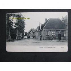 Zonnemaire ca. 1910 - dorpsstraat