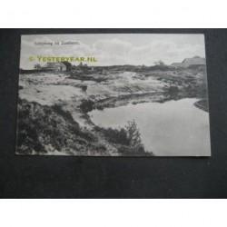 Zuidlaren 1917 - Schipborg rivier de AA