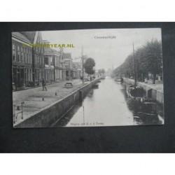 Gorredijk 1915 - Vaart en molen