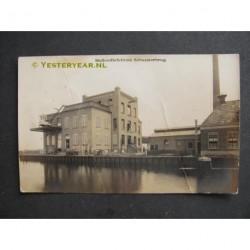 Scharsterbrug 1917 - Hollandia fabriek - fotokaart