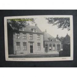 Asperen 1919 - Voorstraat met pastorie