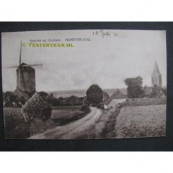 Zeddam ca. 1915 - gezicht op Zeddam Montferland